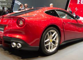 Ferrari F12 in geneva 2012