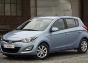 Eerste foto's: Hyundai i20 facelift