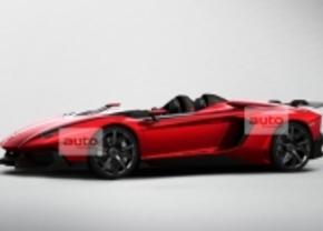 Gelekt Lamborghini Aventador J Speedster