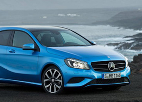 Dit is de Mercedes A-klasse 2012