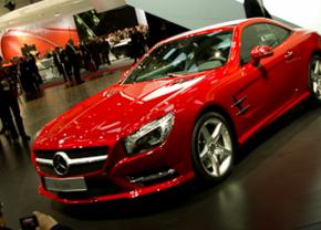 Mercedes SL in Genève