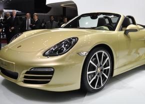 Porsche boxster s (981) 2012