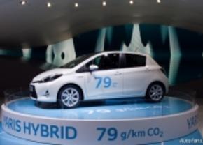 Toyota Yaris Hybrid in Genève