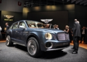 Bentley EXP 9 F concept in geneva 2012