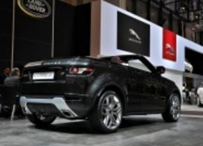 Live in Genève 2012: Range Rover Evoque Cabrio Concept
