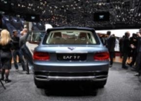 bentley SUV EXP 9 F concept video