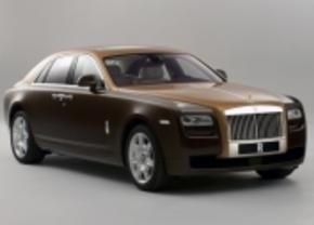 Rolls Royce Ghost two-tone
