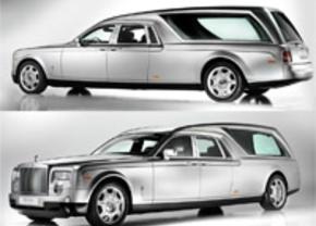 Uitvaart in stijl met de Rolls Royce Phantom Hearse B12