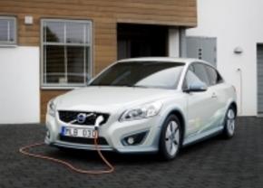Volvo stopt met elektrische C30