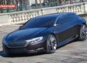 Citroën DS9 concept gelekt