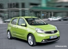 Dacia Citadine amper 5.000 euro