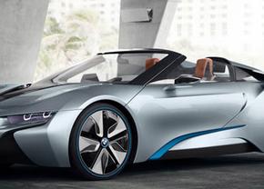 Officieel: BMW i8 Spyder Concept gooit 't dak eraf
