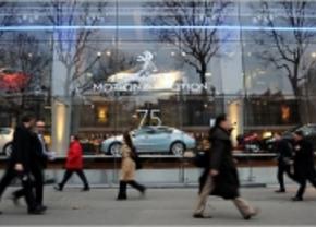 PSA verkoop hoofdkantoor in Parijs