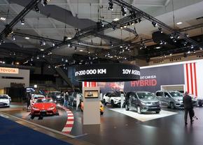 Toyota au Salon de l'auto de Bruxelles 2021