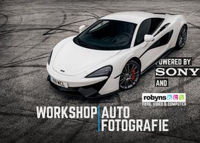 Autofans Workshop Autofotografie ism SONY