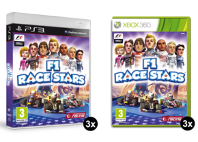 F1 Race Stars Game