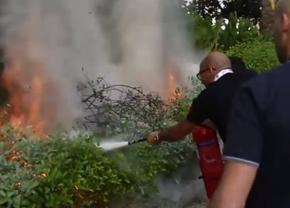 lambo-fire-hazard