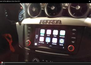 Demo video in Ferrari FF: Zo werkt Apple CarPlay