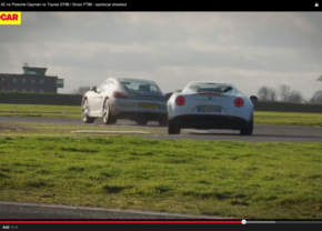Video: Alfa 4C, Porsche Cayman of Toyota GT-86?