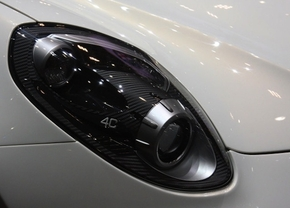 alfa romeo 4C headlight