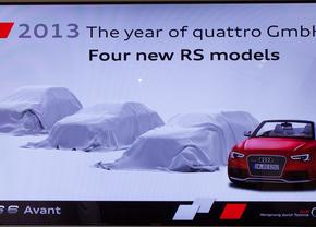 Raadjeplaatje: Audi lanceert nog 3 RS-modellen in 2013, maar welke?