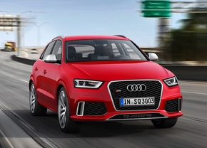 Audi RS Q3 gelekt