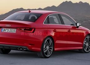 Ook gelekt: Audi A3 sedan