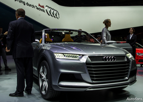 Live in Parijs 2012: Audi Crosslane Concept