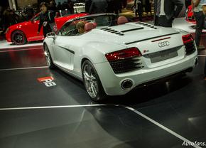 Live in Parijs 2012: Audi R8 (Facelift)