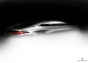 BMW Pininfarina Gran Lusso Coupé teaser