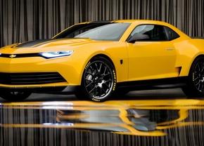 Nieuwe Bumblebee Camaro laat zich zien