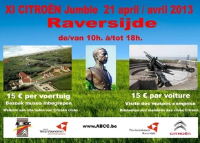 Citroën Jumble in domein Raversyde op 21 april