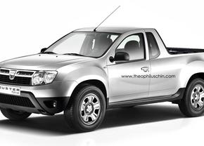 Dacia Duster wordt pick-up vanaf 2014