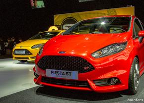 Ford op het Brussels autosalon 2013