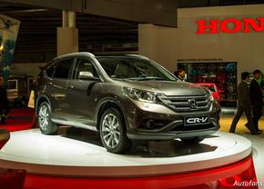 Live in Parijs 2012: Honda CR-V