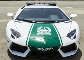 Dubai Police Aventador