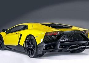 Lamborghini Aventador LP720-4 50 Anniversario gelekt