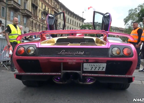 Pink Lamborghini Diablo GT