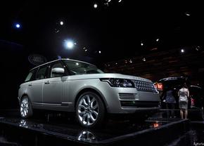 Land Rover op het autosalon Brussel 2013