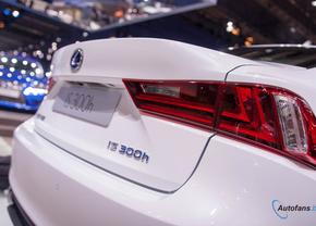 Lexus IS300h overtreft verwachtingen in België