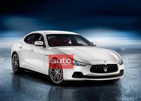 2013 Maserati Ghibli gelekt