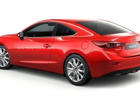 Mazda3 coupé render