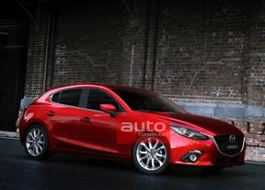 2014 Mazda3 opnieuw gelekt