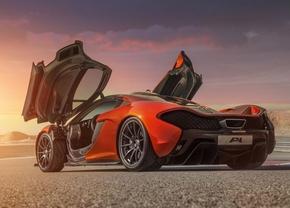 Meer muurbehang: McLaren P1