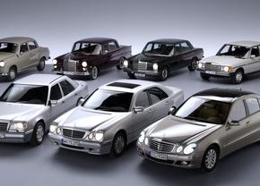 seven-generations-mercedes-benz-e-class