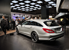Mercedes CLS Shooting Brake and CLS 63 AMG Shooting Brake