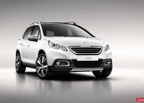 Peugeot 2008 crossover gelekt