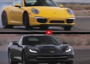 Kies maar: Met de Chevrolet Corvette C7 of Porsche 911 Carrera S op het circuit