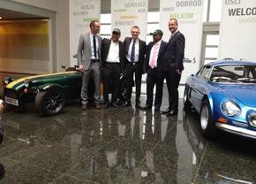 Renault en Caterham Group gaan samen auto's bouwen