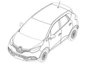 Renault Captur leaked